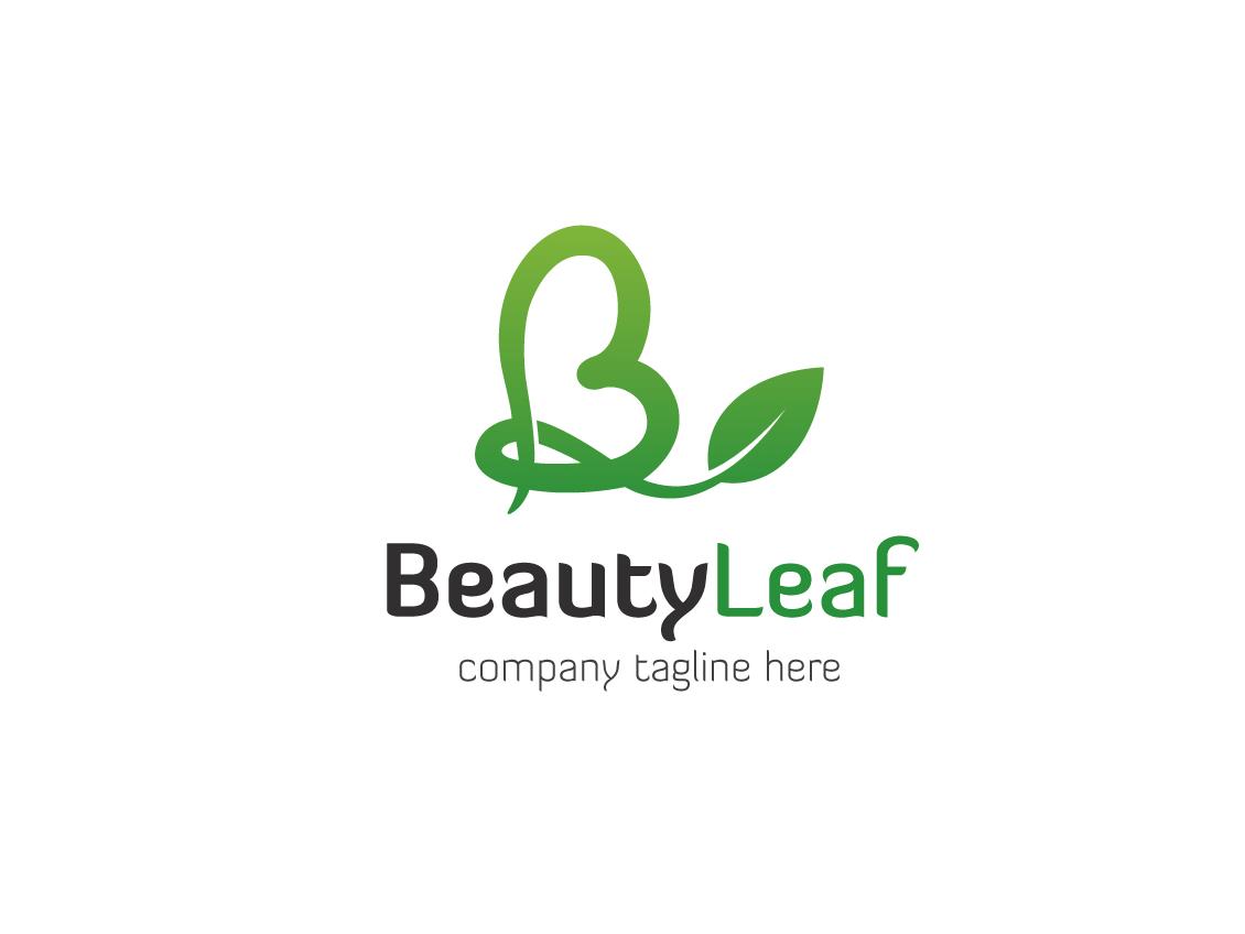 Beauty leaf logo 14
