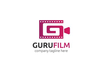 Guru Film Logo video g logo g letter g letter logo logo app agency branding