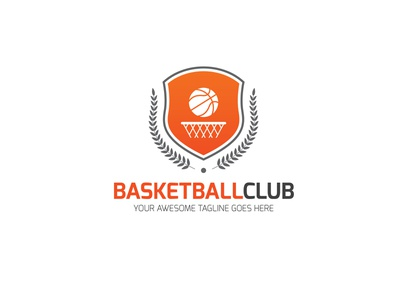 Basketball Club Logo basketball game app sports games logo app branding