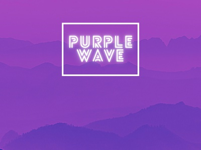 Purple Wave 4k wallpaper wallpaper vector digital art illustration art nature hill wave purple