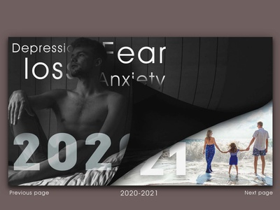 NEW PAGE magazine 2021 2020 rebound web typography branding illustration design