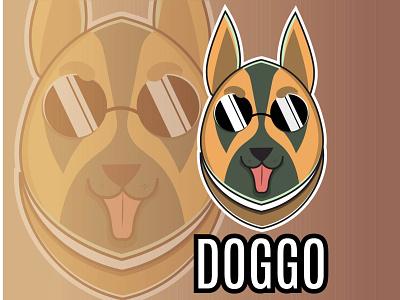 Cute dog mascot logo dog art commercial editorial dog with shades mascot character editable mascot logos marketing web branding logo vector design 2021 illustration cute dog logo elegant logo dog vector mascot design mascot logo