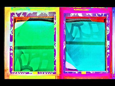 """""""Puertas de entrada al Pozo, La Sabiduría y las Tinieblas"""" reciclado foto de autor arte design diseño"""