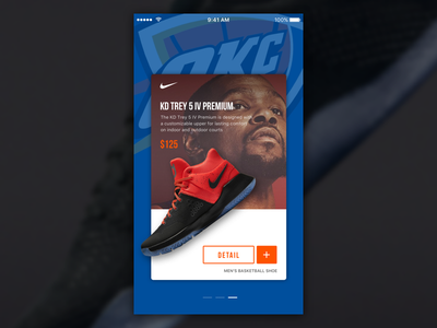 Man Basketball Shoes - KD ui mobile portrait iphone shoes gsw kd okc slide cards ios