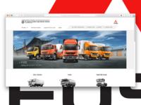 Mitsubishi Fuso Website Revamp