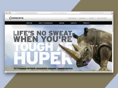 Huper Optik Website