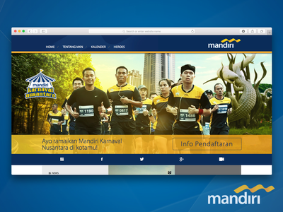 Bank Mandiri Designs Themes Templates And Downloadable Graphic Elements On Dribbble