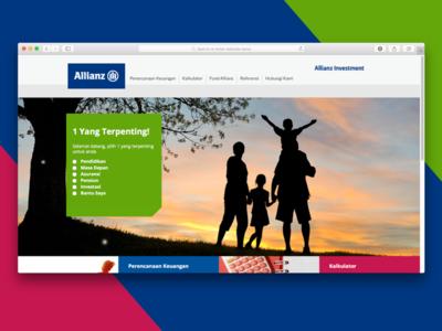 Allianz Investment Website