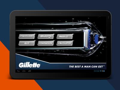 Gillette - Indoor Store Application