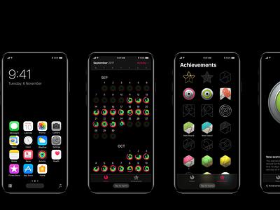 iPhone 8 - Concept navigation ux ui ios prototype animation principle ios11 navigation concept iphone8