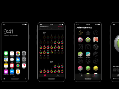 iPhone 8 - Concept navigation screens mobile ux ui ios iphone8 concept navigation ios11