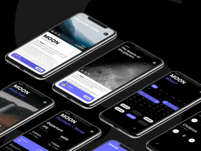 SPACED for iPhone X spacedchallenge ios app moon planet travel space experience iphonex
