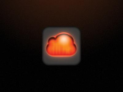 SoundCloud icon  soundcloud sound cloud icon ios app
