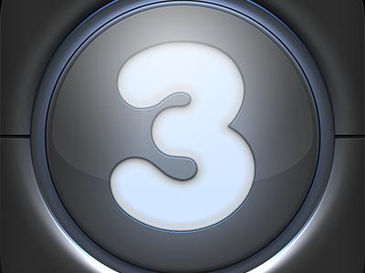[ICON] Credito per Tre  credito per tre iphone 4 app ui restyling black grey icon ios