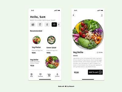 Order Food Online icon ux vector food illustration food and drink illustration graphic design design branding app animation food