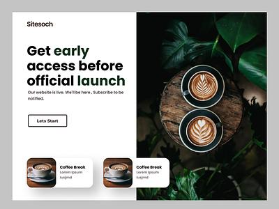 Latteart vector typography illustration graphic design ui coffee