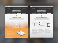 Saas Product Presentation Page