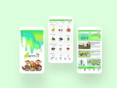 FarmIt agriculture marketplace marketplace app uiux uiuxdesign uidesign ui mobile app design
