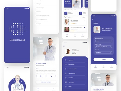 Medical App Concept mobile app development appointment booking doctor appointment doctors app medical app mobile application clinical mobile app mobile app design healthcare doctor health medical care medical ux ui design app