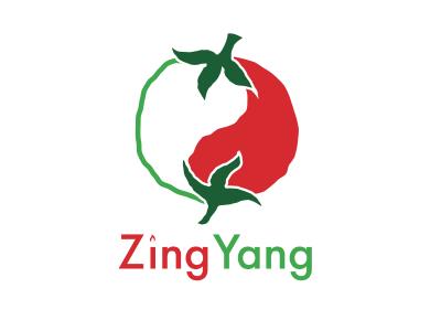 ZingYang Fusion Restaurant yin-yang chinese mexican restaurant yin yang branding logos