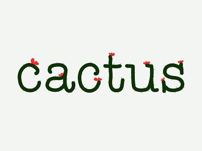 Cactus Logo doodle illustrator logo design cactus logo logotype cactus brand design type logo