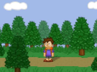 Forest Pixel Art video game graphic design rpg game pixel inspiration inspiration game art game design scene design illustration hiking adventure tree trees forest photoshop pixel pixel art