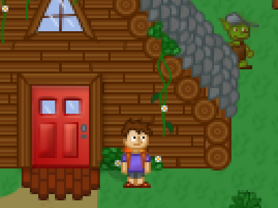 Forest Pixel Art Cabin video game woods texture pattern character goblin rpg cabin forest photoshop game art pixel game art game design graphic art graphic design pixel pixel design pixel art