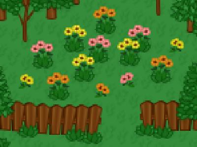 Forest Pixel Art Flowers design photoshop woods garden flower pixel pattern pattern inspiration flowers forest graphic design video game design video game video game art game design game art pixel design pixel pixel art