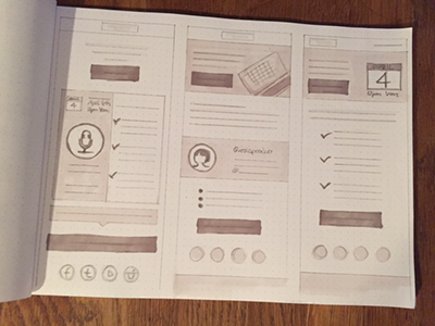 Wireframes webinare email template wireframe