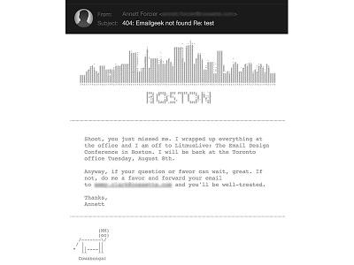 Ascii Art Email html email ascii