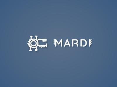 """Logo of """"Mardi"""" logotype logo design design camera video branding logo"""