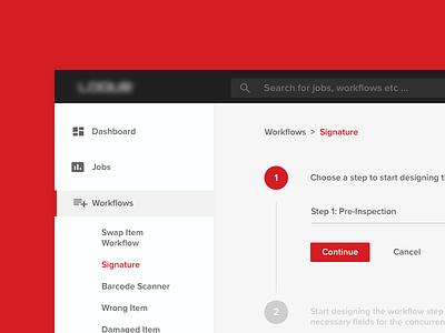 Workflow Designer Dashboard client dashboard design workflow