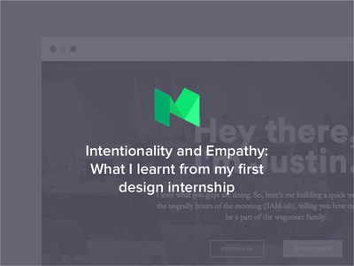 Talking about my first design internship time first internship design medium