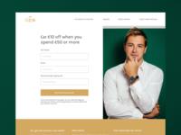 Voucher Landing Page