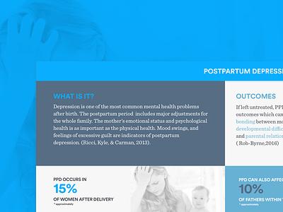 Postpartum Depression Infographic design information infographic mothers depression