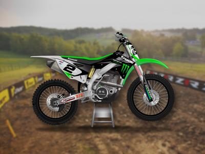 Kawasaki 450 Dirt Bike