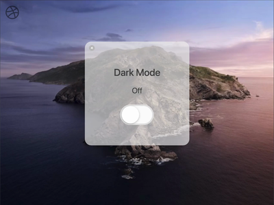 Dark Mode On/Off Switch - Daily UI #015
