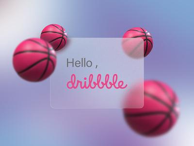 hello dribbble hello dribble glassmorphism hello dribbble