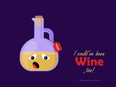 vinegar sad wine vinegar haftsin comics comic 7sin illustrator flat illustration flat design flatdesign flat illustration design
