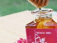 Hive to Home Honey Packaging