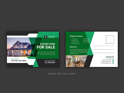Real Estate Modern Postcard design-6 standardpostcard directmailpostcarddesign directmail eddmpostcard modernpostcard postcardesigns postcard