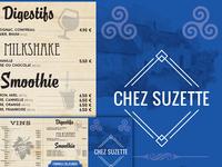 Menu Chez Suzette