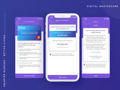 Apply digital Mastercard