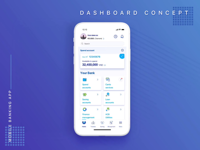 Banking - Dashboard Concept