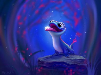 оригинал фанарт drawing character magic fan fanart frozen illustration cartoon character cartoon artwork artist