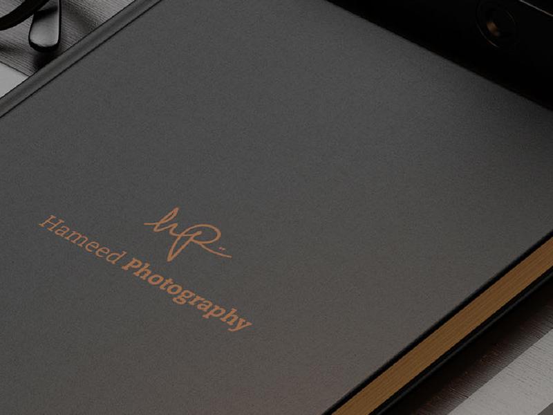 Hameed Photography print logo photography brand branding