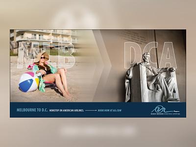 Local Airport Campaign Ad2 campaign design advertisement branding design