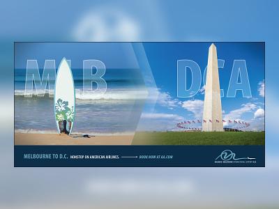 Local Airport Campaign Ad3 campaign design advertisement branding design