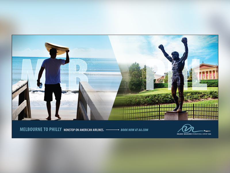 Local Airport Campaign Ad6 campaign design advertisement branding design
