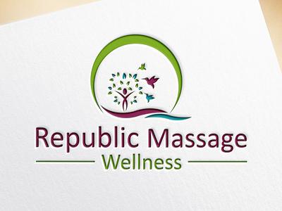 do counselling health typography illustrator branding design icon vector graphic design minimal flat logo